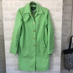 Lauren Ralph Lauren rain coat trench green size s